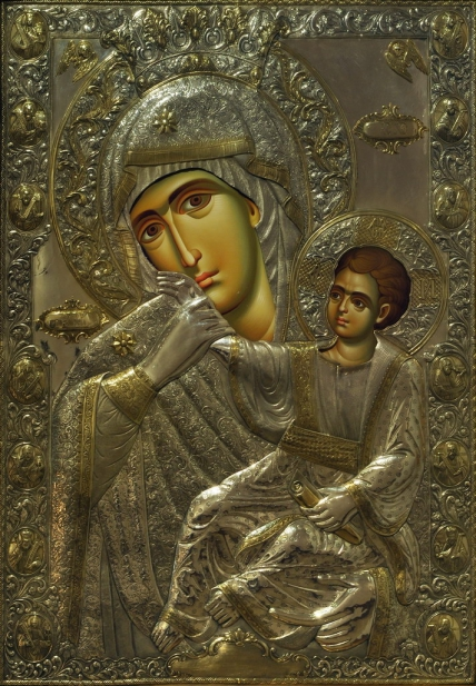 Чудотворна ікона Божої Матері Відрада і Втіха, Київ