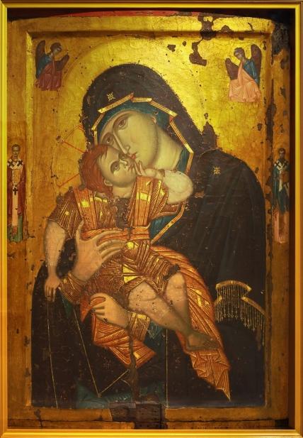 Чудотворна ікона Божої Матері Солодке Лобзання Глікофілуса, Київ