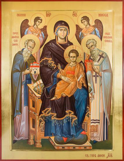 Чудотворна ікона Божої Матері Економіса Домобудівниця, Київ